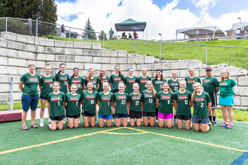2017 vt Girls lacrosse team