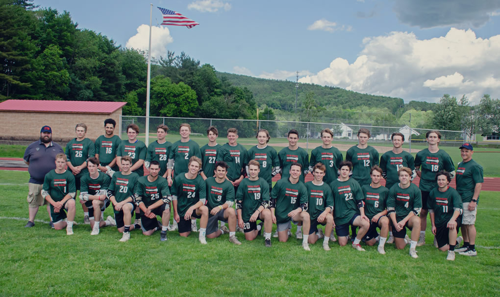 2019 VT boys lacrosse team