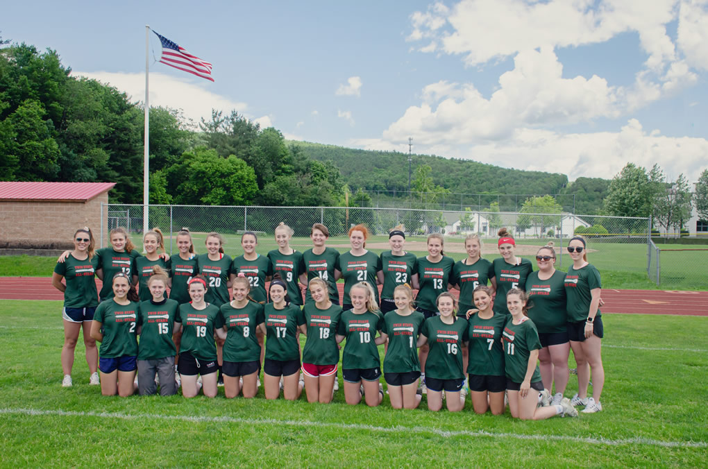 2019 vt Girls lacrosse team